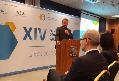 Dzień Chorego 2020 XIV Forum Organizacji Pacjentów